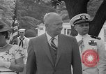 Image of President Eisenhower Washington DC USA, 1955, second 10 stock footage video 65675052565