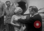 Image of actress Mamie Van Doren Santa Monica California USA, 1955, second 12 stock footage video 65675052566