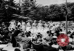 Image of model parade France, 1955, second 2 stock footage video 65675052567