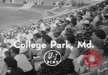Image of college lacrosse game College Park Maryland USA, 1955, second 6 stock footage video 65675052568