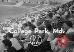 Image of lacrosse game College Park Maryland USA, 1955, second 7 stock footage video 65675052568