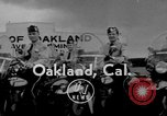 Image of Oakland Motorcycle Drill Team Oakland California USA, 1955, second 1 stock footage video 65675052569