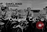 Image of Oakland Motorcycle Drill Team Oakland California USA, 1955, second 3 stock footage video 65675052569