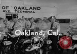 Image of Oakland Motorcycle Drill Team Oakland California USA, 1955, second 4 stock footage video 65675052569