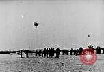 Image of Parachutist jumps from airship New York United States USA, 1918, second 11 stock footage video 65675052580