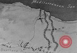 Image of map of Africa El Alamein Egypt, 1944, second 3 stock footage video 65675052596