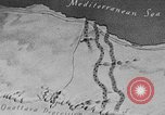 Image of map of Africa El Alamein Egypt, 1944, second 5 stock footage video 65675052596