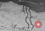 Image of map of Africa El Alamein Egypt, 1944, second 7 stock footage video 65675052596
