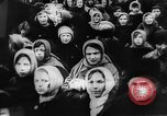 Image of massed crowd parading Moscow Russia Soviet Union, 1924, second 4 stock footage video 65675052607