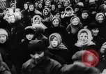 Image of massed crowd parading Moscow Russia Soviet Union, 1924, second 5 stock footage video 65675052607