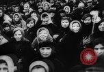 Image of massed crowd parading Moscow Russia Soviet Union, 1924, second 6 stock footage video 65675052607