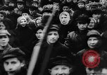 Image of massed crowd parading Moscow Russia Soviet Union, 1924, second 10 stock footage video 65675052607