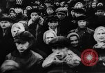 Image of massed crowd parading Moscow Russia Soviet Union, 1924, second 11 stock footage video 65675052607