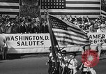 Image of American Legionnaires parade Washington DC USA, 1954, second 7 stock footage video 65675052612