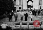 Image of President Eisenhower Geneva Switzerland, 1955, second 9 stock footage video 65675052614