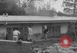 Image of men outside houses Sierra Madre California USA, 1954, second 10 stock footage video 65675052625
