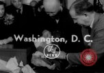 Image of President Eisenhower Washington DC White House USA, 1954, second 1 stock footage video 65675052626