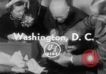 Image of President Eisenhower Washington DC White House USA, 1954, second 4 stock footage video 65675052626