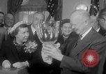 Image of President Eisenhower Washington DC White House USA, 1954, second 11 stock footage video 65675052626