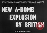 Image of third atomic explosion by Britain Australia, 1954, second 6 stock footage video 65675052629