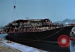 Image of Japanese destroyer Natsuzuki Honshu Japan Kure Naval Base, 1946, second 5 stock footage video 65675052635