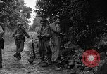 Image of 7th Division infantrymen Kin Okinawa Ryukyu Islands, 1945, second 6 stock footage video 65675052685