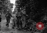 Image of 7th Division infantrymen Kin Okinawa Ryukyu Islands, 1945, second 7 stock footage video 65675052685
