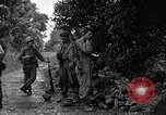 Image of 7th Division infantrymen Kin Okinawa Ryukyu Islands, 1945, second 9 stock footage video 65675052685