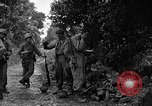 Image of 7th Division infantrymen Kin Okinawa Ryukyu Islands, 1945, second 10 stock footage video 65675052685