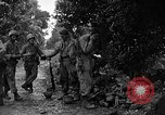 Image of 7th Division infantrymen Kin Okinawa Ryukyu Islands, 1945, second 11 stock footage video 65675052685