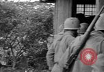 Image of 7th Division infantrymen Kin Okinawa Ryukyu Islands, 1945, second 8 stock footage video 65675052688
