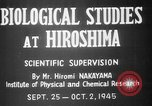 Image of plants and vegetation Hiroshima Japan, 1945, second 2 stock footage video 65675052705
