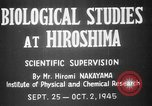 Image of plants and vegetation Hiroshima Japan, 1945, second 9 stock footage video 65675052705