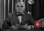 Image of President Harry S Truman Washington DC USA, 1945, second 7 stock footage video 65675052719