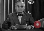 Image of President Harry S Truman Washington DC USA, 1945, second 8 stock footage video 65675052719