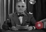 Image of President Harry S Truman Washington DC USA, 1945, second 9 stock footage video 65675052719