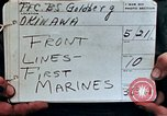 Image of First Marine Regiment Shuri Okinawa Ryukyu Islands, 1945, second 3 stock footage video 65675052720