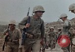 Image of First Marine Regiment Shuri Okinawa Ryukyu Islands, 1945, second 7 stock footage video 65675052720