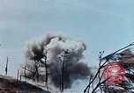 Image of blasts Okinawa Ryukyu Islands, 1945, second 10 stock footage video 65675052738