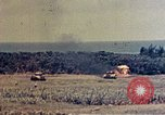 Image of flamethrower tanks Okinawa Ryukyu Islands, 1945, second 9 stock footage video 65675052785