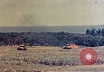 Image of flamethrower tanks Okinawa Ryukyu Islands, 1945, second 11 stock footage video 65675052785