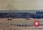 Image of flamethrower tanks Okinawa Ryukyu Islands, 1945, second 12 stock footage video 65675052785