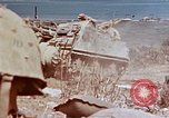 Image of United States M-7 tank Okinawa Ryukyu Islands, 1945, second 5 stock footage video 65675052794