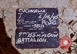 Image of 7th 155mm Gun Battalion Okinawa Ryukyu Islands, 1945, second 4 stock footage video 65675052799