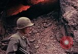 Image of Japanese cave Okinawa Ryukyu Islands, 1945, second 10 stock footage video 65675052801