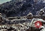 Image of 6th Marine Regiment 22nd Marines Okinawa Ryukyu Islands, 1945, second 12 stock footage video 65675052814