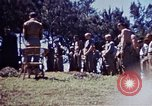 Image of Chaplain Critz Okinawa Ryukyu Islands, 1945, second 8 stock footage video 65675052836