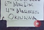 Image of 6th Marine Division 4th Marines Okinawa Ryukyu Islands, 1945, second 2 stock footage video 65675052855
