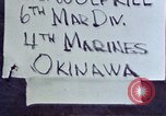 Image of 6th Marine Division 4th Marines Okinawa Ryukyu Islands, 1945, second 3 stock footage video 65675052855