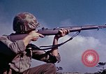 Image of 6th Marine Division 4th Marines Okinawa Ryukyu Islands, 1945, second 10 stock footage video 65675052856